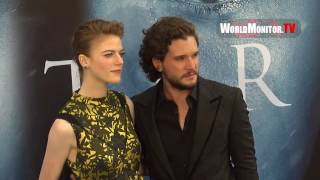 http://worldmonitor.tv Please click on the link above to visit our website and remember to subscribe to this channel! Kit Harington, Rose Leslie Reunite at t...