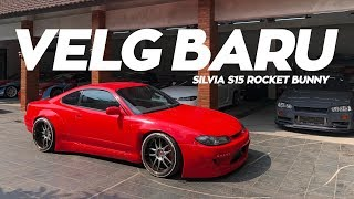 Video Velg Baru Silvia S15 Rocket Bunny! MP3, 3GP, MP4, WEBM, AVI, FLV Juni 2018