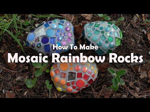 mosaico su pietre - tutorial