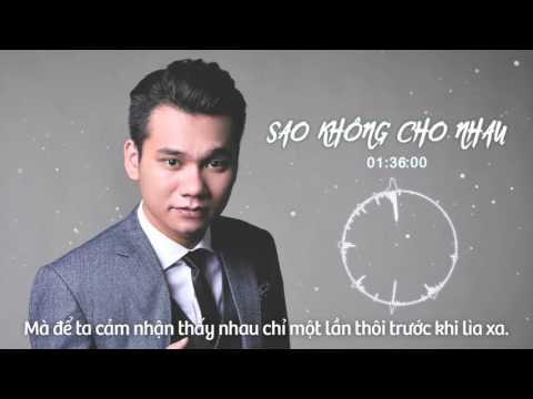 Sao Không Cho Nhau DJ Daniel Mastro Remix