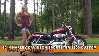 9. New 2014 Harley Davidson Sportster 1200 Custom Motorcycle for sale