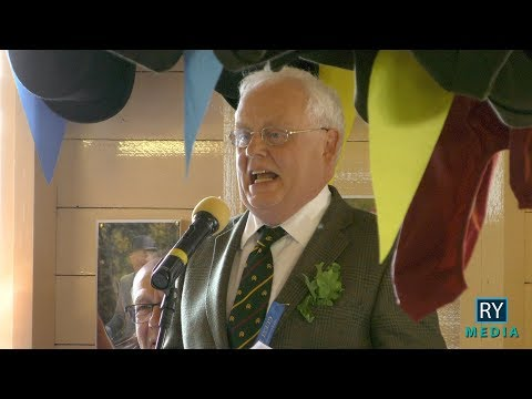 Billy Young Toasts the Common Riding at the Friday Morning Hut | Hawick Common Riding 2019