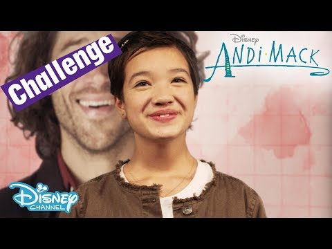 Andi Mack | Sing Along Challenge - Theme Song Game |  Disney Channel UK
