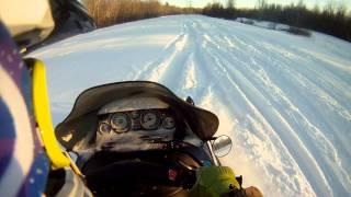 8. Ski-Doo Grand touring 700 triple 1998