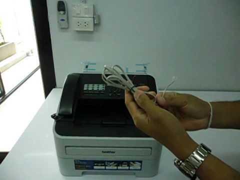 03 การติดตั้งเครื่อง Fax กรณีต่อกับ TOT