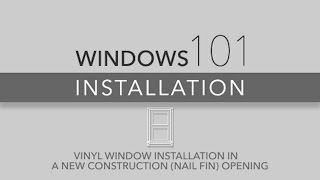 New Construction Installation 101