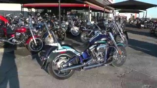 6. 951424 - 2011 Harley Davidson CVO Softail Convertible FLSTSE - Used Motorcycle For Sale