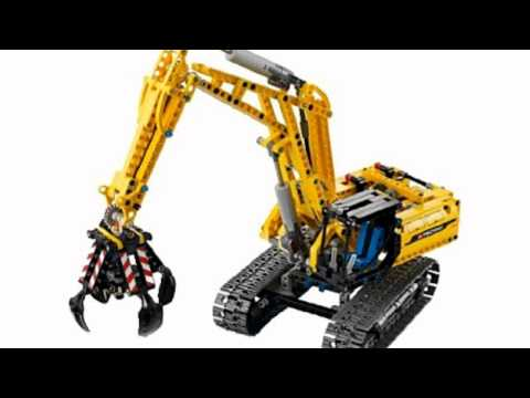 Video YouTube analysis of the Technic 42006 Excavator