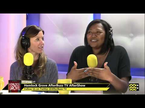Hemlock Grove w/ Kaniehtiio Horn After Show  Season 1 Episodes 3 & 4 & 5  | AfterBuzz TV