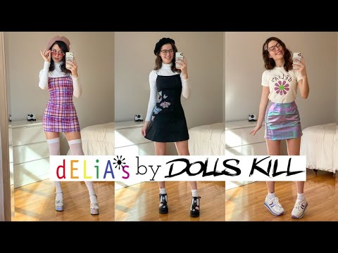 Delias by Dollskill Unboxing Haul 🌸