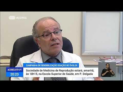 Entrevista ao Dr Rui de Mendonça sobre a Campanha Nacional de Sensibilização para a Doação de Óvulos, Outubro