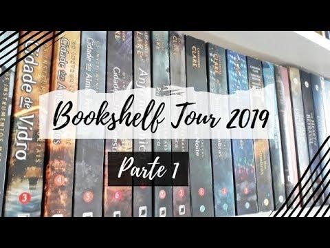 Bookshelf Tour 2019 (Parte 1) | VEDA #6 | Um Livro e Só