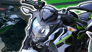 7. 2019 Kawasaki z125 - First Test Ride