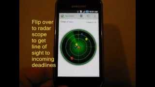Task Radar - Task List YouTube video