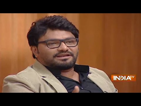 Watch Union Minister Babul Supriyo in Aap ki Adalat
