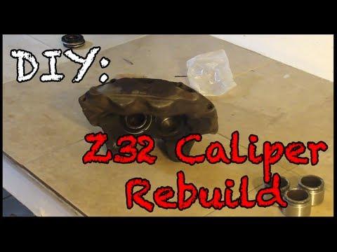 Z32 Caliper Rebuild
