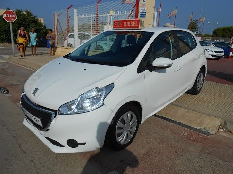 sehen video Peugeot 208 1.6 HDI ACTIVE