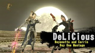 Bayonetta and Corrin Day One Montage