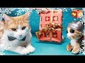 Download Lagu Cute cat part five 5   Pet Christmas presents   Bellboxes Simba aww    Funny friendly animals Mp3 Free