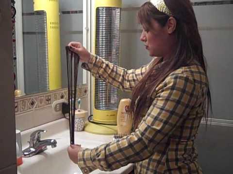 GabyTips 61 Como cuidar y lavar tus extensiones de cabello
