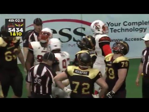 Week 9: Empire Strike Barnstormers 54-34