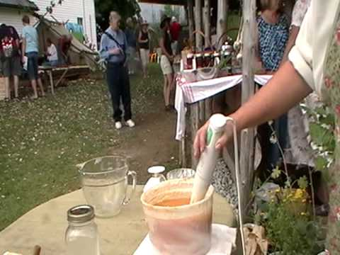 Nancy Today: Making soap at the market  1 (soap 226) ASMR 'Sounds of Nature'