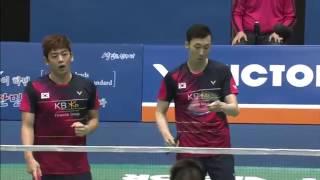 Video Victor Korea Open 2016 | Badminton F M2-MD | Lee/Yoo vs Li/Liu MP3, 3GP, MP4, WEBM, AVI, FLV April 2019