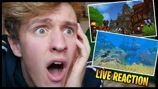 REACTING To Hytale Official Trailer   Hypixel Standalone Game   LIVE REACTION!