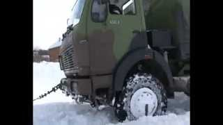 Pokazna vežba o karakteristikama terenskog motornog vozila FAP 1118 1/2