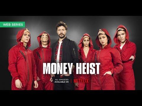 Money heist season 1 episode 1 hindi dubbed | Netflix original web series (La Casa De Papel)