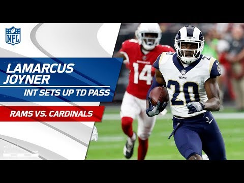Video: Lamarcus Joyner's INT Sets Up Jared Goff 's Quick TD Pass! | Can't-Miss Play | NFL Wk 13 Highlights