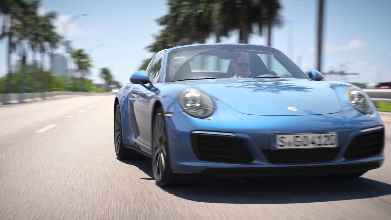 2016 Porsche 911 Targa 4
