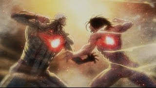 "Attack on Titan Season 2 OP - ""Shinzou wo Sasageyo"" Performed by: Linked Horizon Lyrics by: Revo Music by: Revo..."
