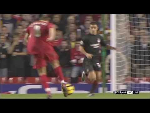Steven Gerrard's Goal Vs Olympiacos - Technical Analysis