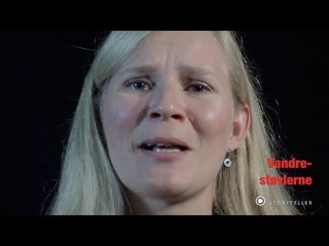 """Fortælleren Kari Brinch med sin egen historie om """"Vandrestøvlerne""""  Se mere om Kari Brinch på storytale.dk"""