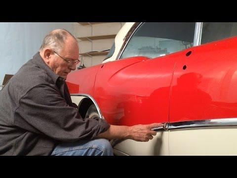 1956 Buick – Installing the Chrome Trim