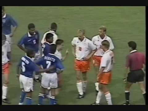 Brasil 3x2 Holanda - Copa 1994 - 2o Tempo - World Cup Fifa
