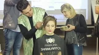 Catanzaro Italy  city photos gallery : Farrukh Shamuratov Workshop on hairdo Catanzaro, Italy 2016