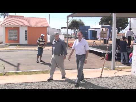 Trailler Entrega das 72 casas CDHU Guzolândia-SP