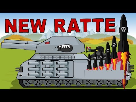 """Tank RATTE 3000 The Warrior Of Armageddon""   Cartoon About Tanks"