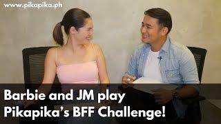 Video Barbie and JM play Pikapika's BFF Challenge! MP3, 3GP, MP4, WEBM, AVI, FLV Januari 2019