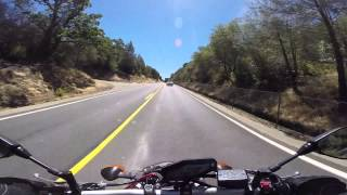 10. 2014 Yamaha FZ-09/MT-09 Test Ride/Review @ Clearlake, CA