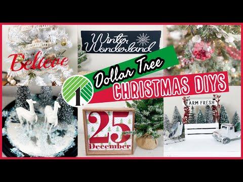 *NEW* Dollar Tree DIY Christmas Ideas 2020!! 🎄