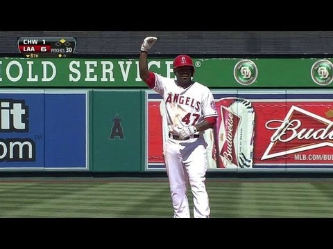 Video: CWS@LAA: Kendrick's two-run double pads Angels' lead