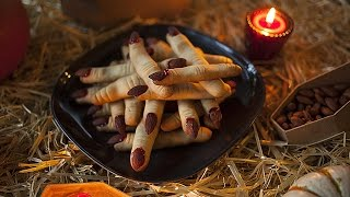 Biscoito dedo de bruxa