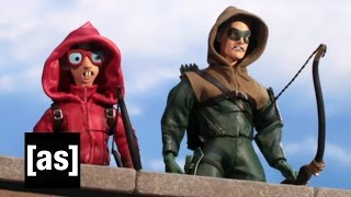 The Nerd on the CW | Robot Chicken | Adult Swim