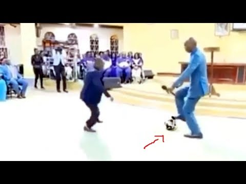 Prophet Dribbles Football Demon Out Of Members During Deliverance