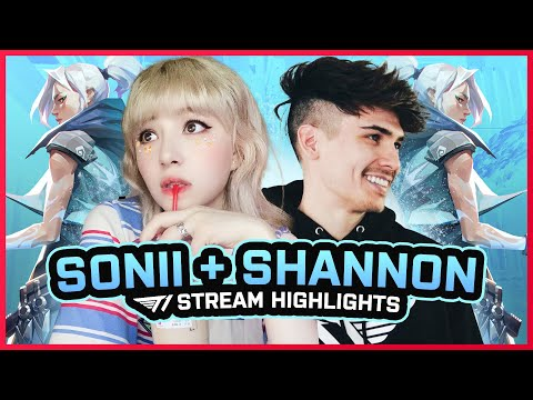 Can Sonii Play w/ High Ping? (feat. Shannon Williams) | T1 Stream Highlights