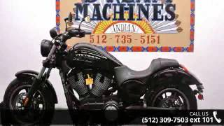 7. 2013 Victory Judge Gloss Black  - Dream Machines Indian M...