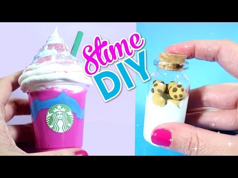 HAZ SLIME FRAPPE UNICORNIO - SLIME MANTEQUILLA - FLUFFY SLIME  - 4 MANUALIDADES FACILES DIY